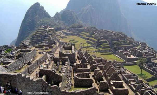 Peru, Machu Picchu, vista panorâmica