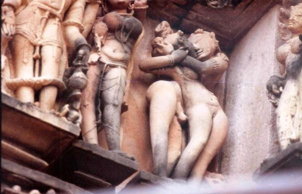 Templo erótico de Khajurao, na ìndia