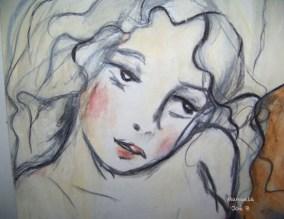 dessin jeune fille