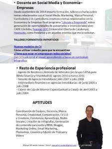 Manuel Miranda Jiménez CV diciembre 2015 - Diapositiva 2