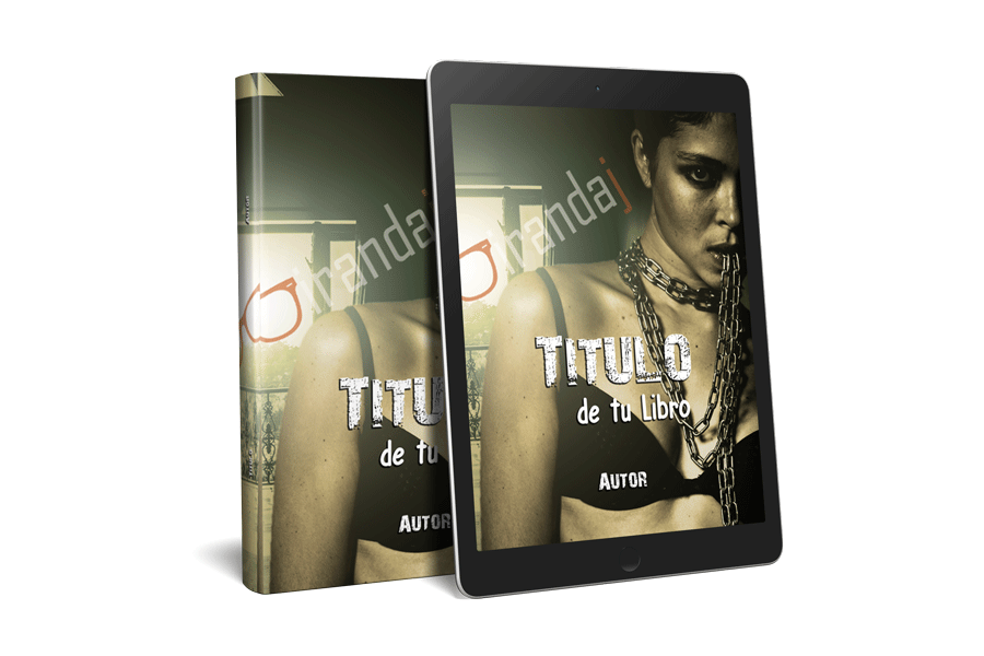 portadas para libros y ebooks mujer encadenada