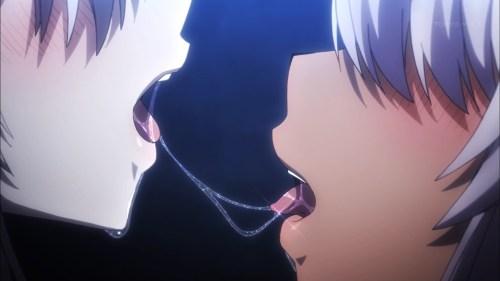 イリヤとクロのキス