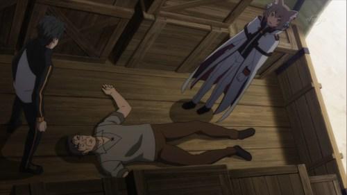 魔女教のスパイを捕まえるフェリス