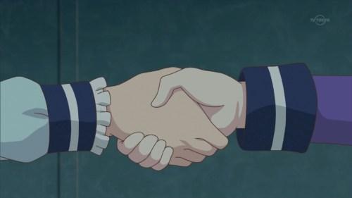 リリィとゆめの握手