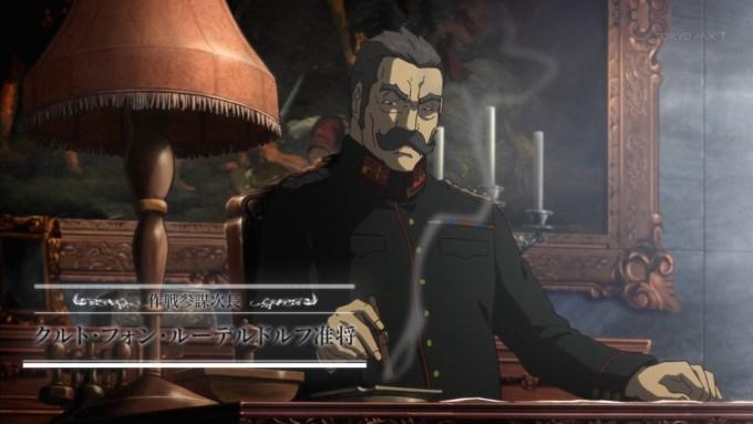 クルト・フォン・ルーデルドルフ(第1話画像)