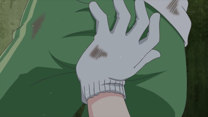 夢川ゆいの尻を触るらぁら(アイドルタイムプリパラ2話画像)