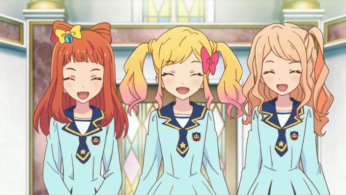 虹野ゆめと香澄真昼と早乙女あこ(アイカツスターズ50話画像)