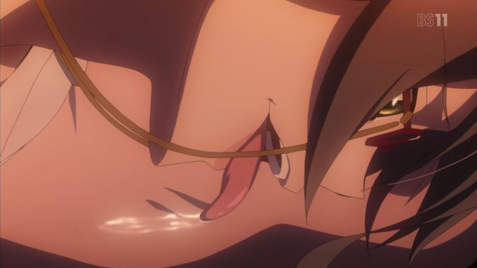 アストルフォのを舐めるセレニケ