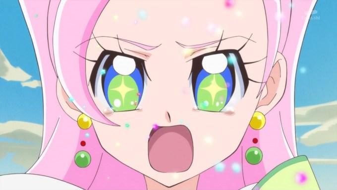 泣くキュアパルフェ