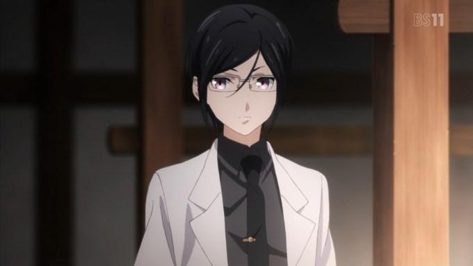 メガネをかけた薬研藤四郎
