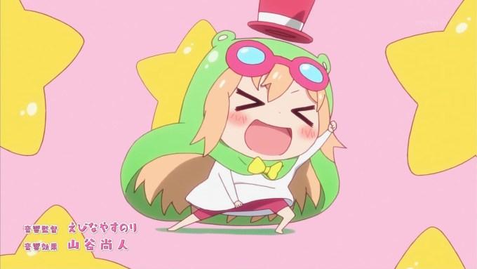干物妹!うまるちゃんRのオープニングアニメーション