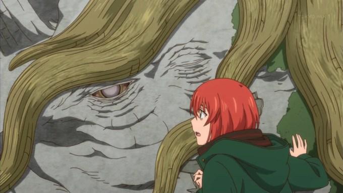 樹になるネヴィンと羽鳥チセ