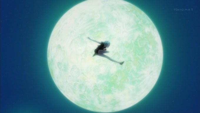 ダイヤモンドと月
