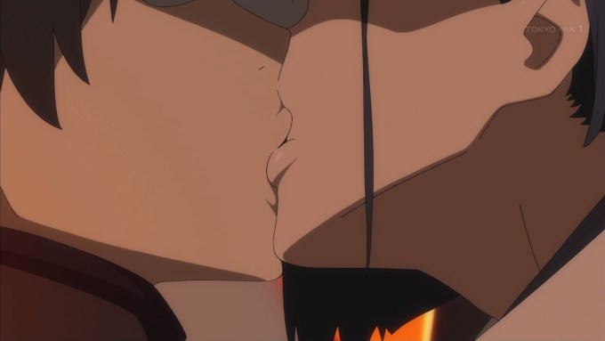 ヒロとイチゴのキス