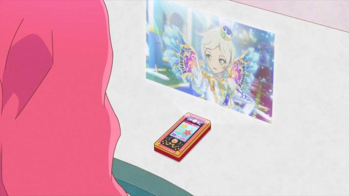騎咲レイのステージを見るエルザ