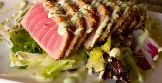 Recipe: Sesame Seared Tuna with Wasabi Cream