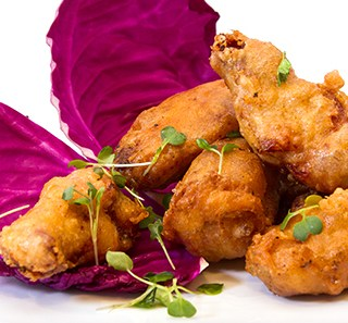 Spiced Tempura Wings