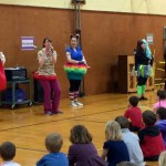 Today we put on a skit about the importance of healthy teeth for the Nehalem Elementary!