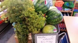 Hermiston Watermelons & Fresh Dill