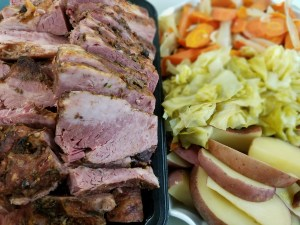 Corned Beef & Veggies