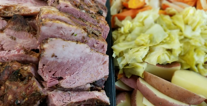St. Paddy's Corned Beef Specials!