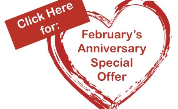 February Anniversary Special
