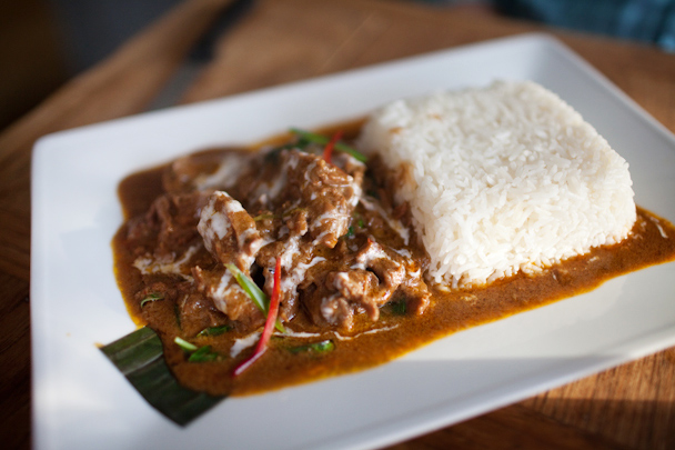 Beef Panaeng