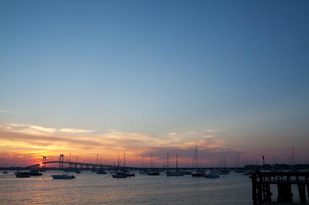 Newport RI Sunset