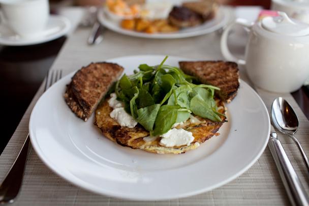 Castle Hill Inn Breakfast