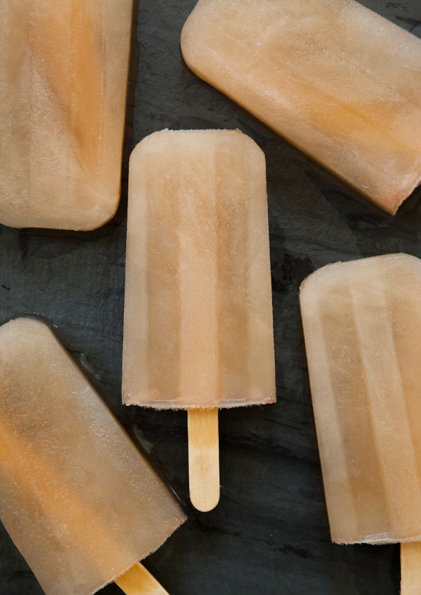 Saint Germain Grapefruit Popsicles