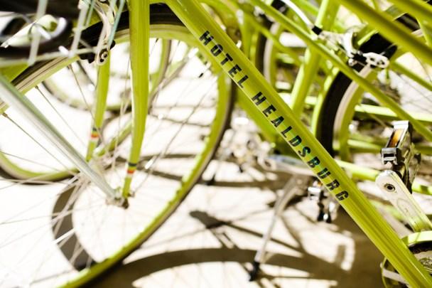 Hotel Healdsburg Bikes