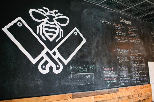 Butcher & Bee Menu