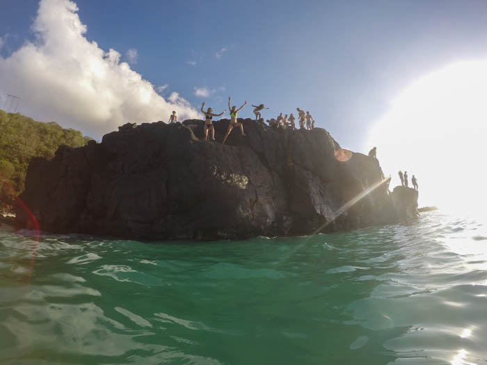 Waimea Bay Cliff