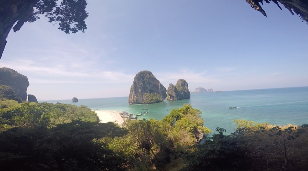 Railay Beach Thailand. Rock Climbing in Railay, Thailand
