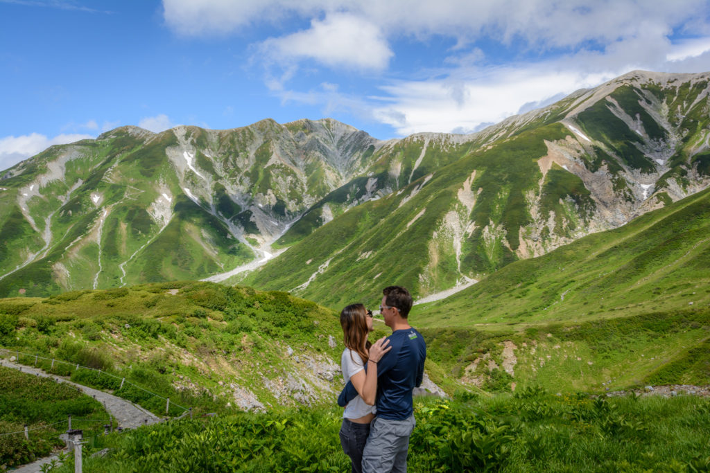 July 2016- Hiking in the Japanese Alps