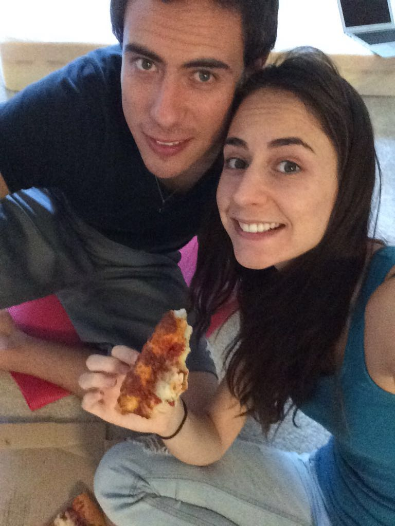 October 2015- The day we said goodbye to our home of two years in Orange County, and we had to eat our goodbye pizza on the floor. We had no idea what was coming next.