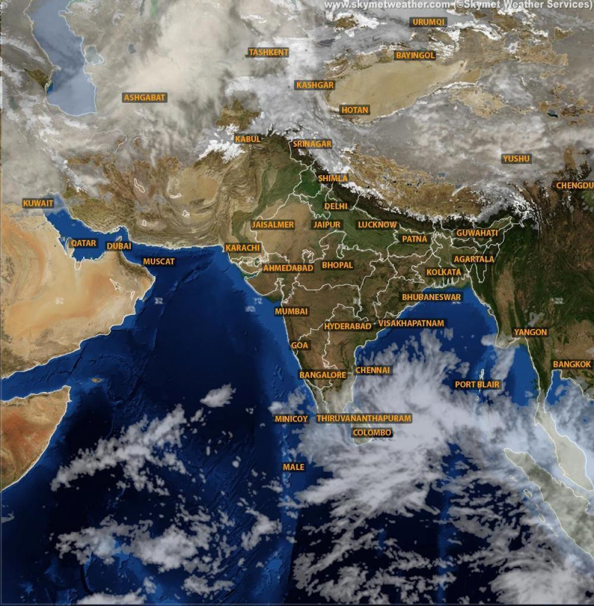 Weather map India satellite live   India weather map satellite live     India weather map satellite live