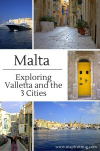 Malta Day 2 - Exploring Valletta and the 3 Cities