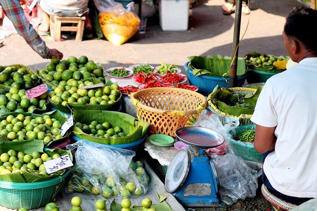 Local market in Chiang Rai