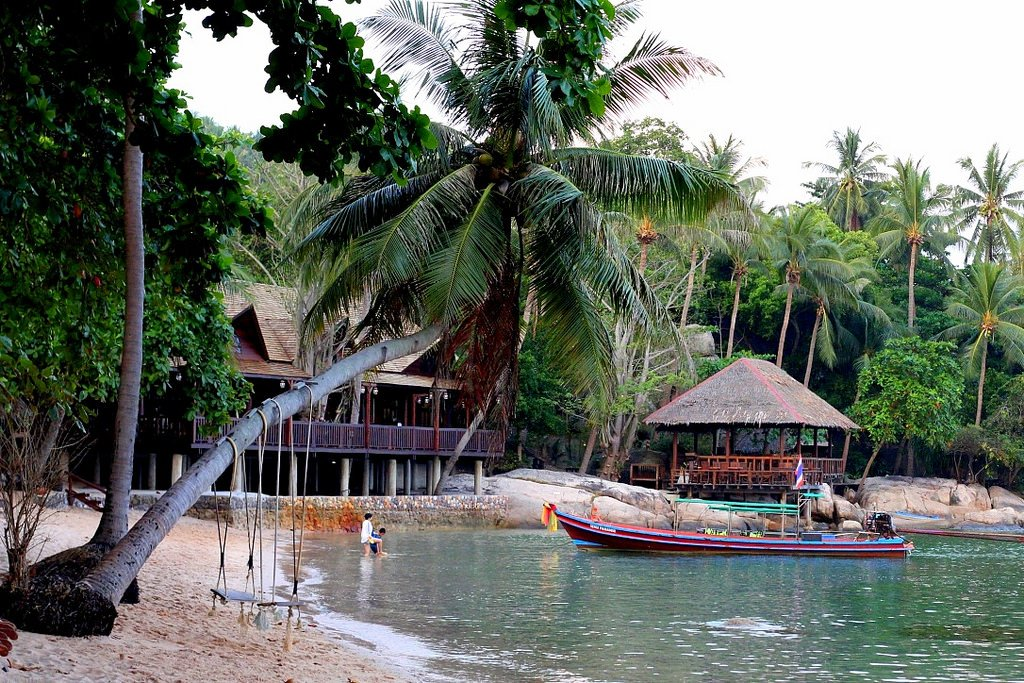 Beaches of Koh Tao Island