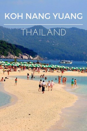 A day trip to Ko Nang Yuan Island, Koh Tao, Thailand