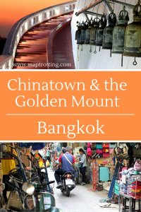 Chinatown and the Golden Mount, Bangkok, Thailand