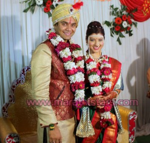 Tejswini Pandit & Bhushan Bopche marriage Photos