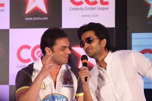 Ritesh Deshmukh And Sohail Khan at Newspress