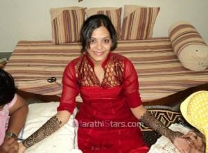 Saurabh Gokhale Anuja Sathe Mehendi Photos