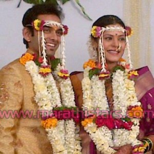 Suarabh Gokhale And Anuja Sathe marriage Photo