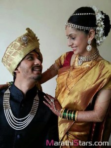 Marathi Actor Abhijeet Khandkekar Engagement Photos