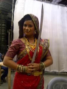 Veer Shivaji Actress Ruchita jadhav Soyarabai Colors tv