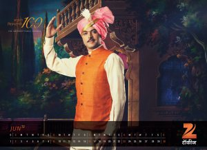 Zee Talkies Celebrity Calendar January 2013