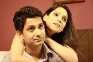 Priya Bapat & Umesh kamat in Time Please  Love Story Marathi Movie